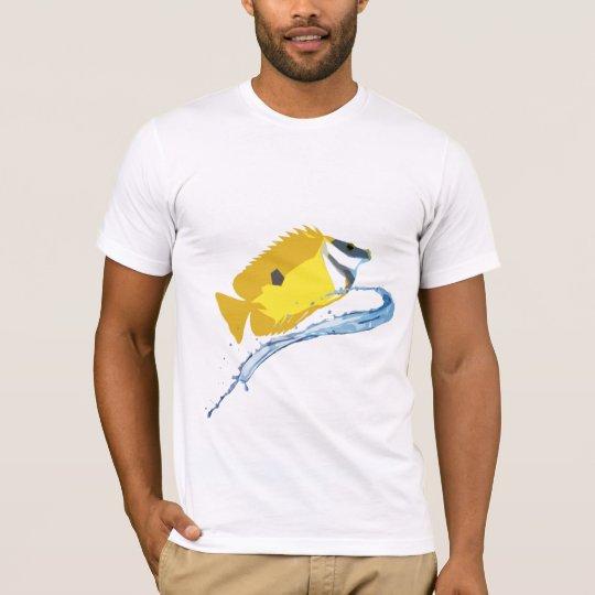 Stylized Foxface Fish T-Shirt