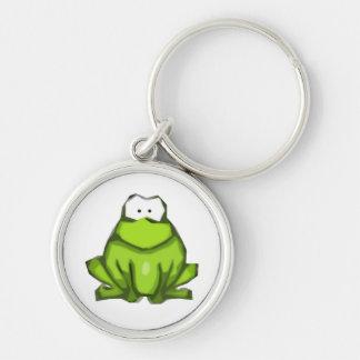 Stylized Frog Keychain