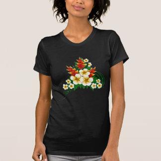 Stylized Ginger & Plumeria Fronds T-shirt