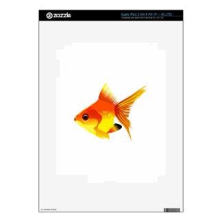 Stylized Goldfish Skins For iPad 3