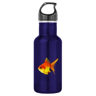 Stylized Goldfish Water Bottle
