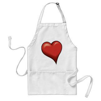 Stylized Heart Apron