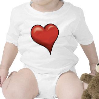 Stylized Heart Bodysuit