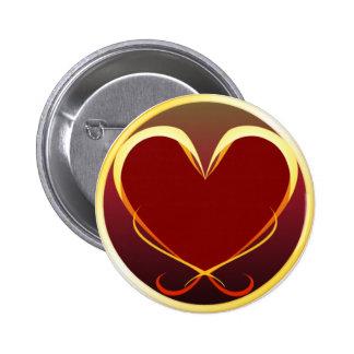Stylized Heart Button