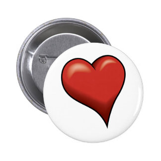 Stylized Heart Buttons