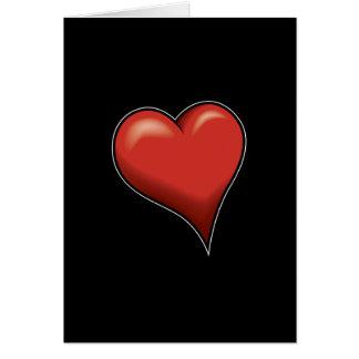 Stylized Heart Cards