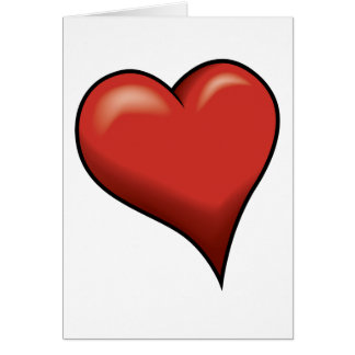 Stylized Heart Greeting Cards