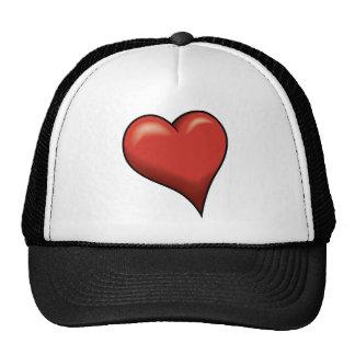Stylized Heart Hats