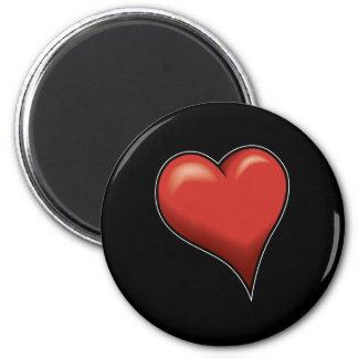 Stylized Heart Magnet