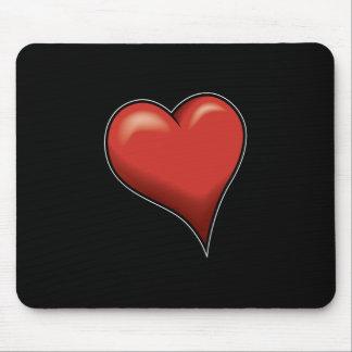Stylized Heart Mouse Pad
