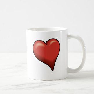 Stylized Heart Mug