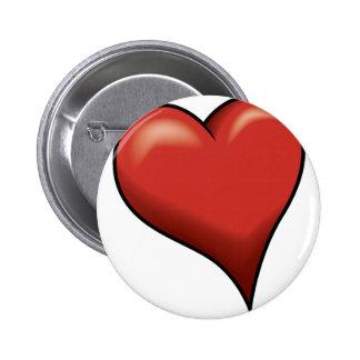 Stylized Heart Pin