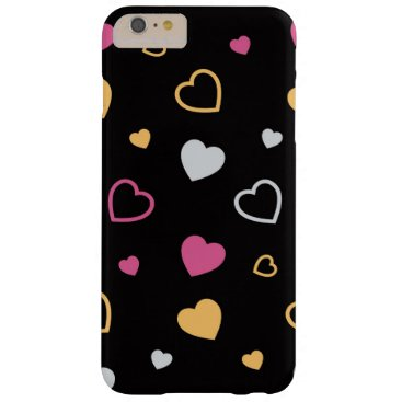 Stylized hearts pattern 3 barely there iPhone 6 plus case
