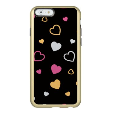 Stylized hearts pattern 3 incipio feather shine iPhone 6 case
