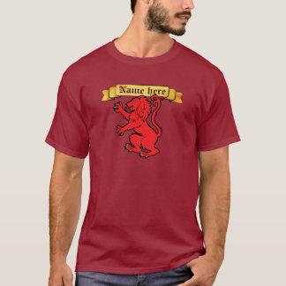 Stylized Heraldic Lion T-Shirt