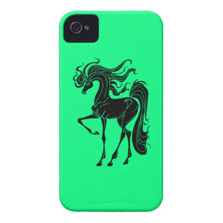 Stylized horse design iPhone 4 Case-Mate case