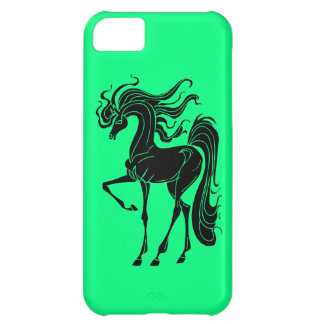 Stylized horse design iPhone 5C cover