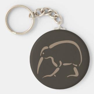 Stylized Kiwi Keychain