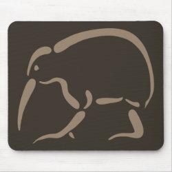 Mousepad with Stylized Kiwi design