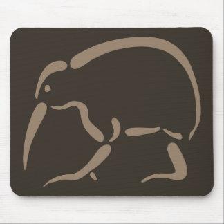 Stylized Kiwi Mouse Pads