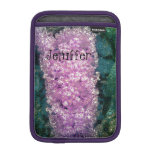 Stylized Lavender Butterfly Bush iPad Mini Case