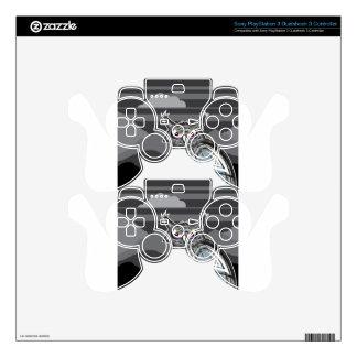Stylized owl dark night PS3 controller skins
