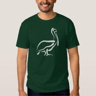Stylized Pelican T Shirt