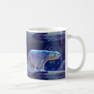 Stylized Polar Bear Coffee Mug