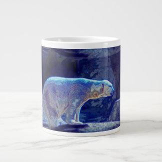 Stylized Polar Bear Large Coffee Mug