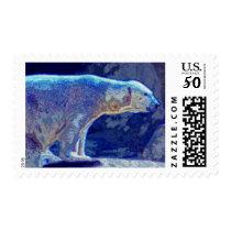 Stylized Polar Bear Postage