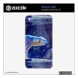 Stylized Polar Bear Skin For The iPhone 4