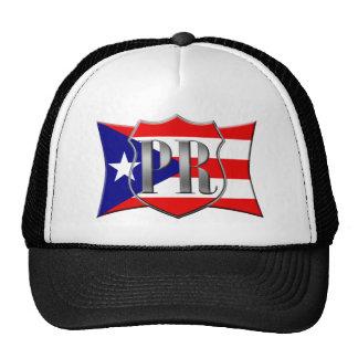 Stylized Puerto Rican Flag Trucker Hat