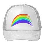 Stylized Rainbow Arch Hats