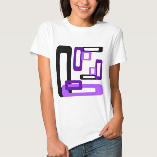 Stylized Rectangles Tees