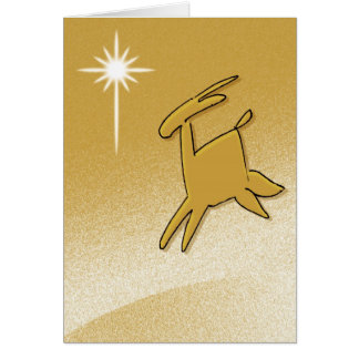Stylized Reindeer Cards