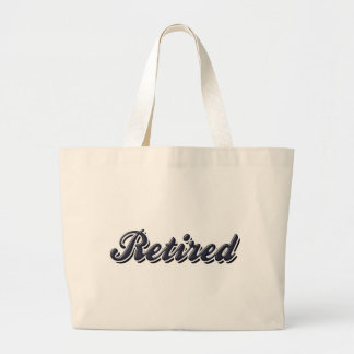 Stylized Retired Tote Bags