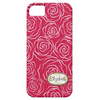 Stylized Rose Garden Pattern | iPhone 5 Case