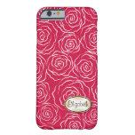 Stylized Rose Garden Pattern | iPhone 6 case