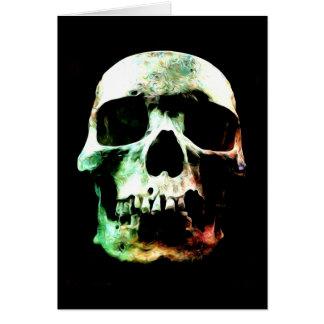 Stylized Skull Card