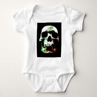 Stylized Skull Infant Creeper