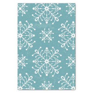 "Stylized Snowflakes 10"" X 15"" Tissue Paper"