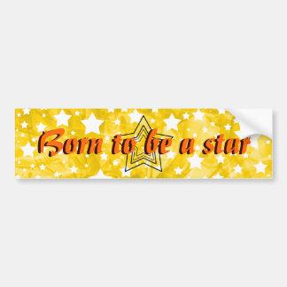 Stylized Star Bumper Stickers