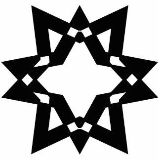 Stylized Star Cutout