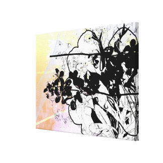 Stylized Tree Branches Canvas Prints