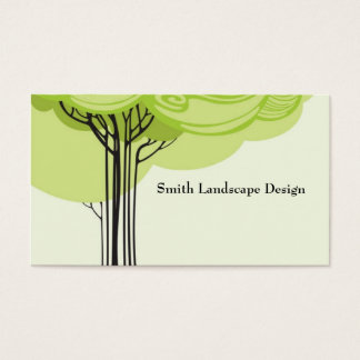 Stylized Tree Business Card