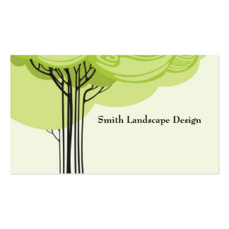 Stylized Tree Business Card Templates