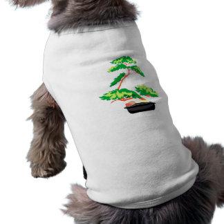 Stylized Upright Bonsai 2 Dog Tshirt