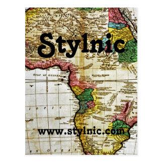 Stylnic Promo Card Postcard