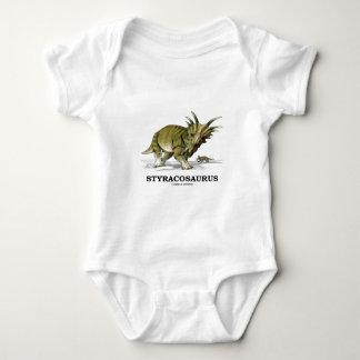 Styracosaurus Baby Bodysuit