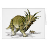 Styracosaurus - Cretacous Dinosaur Card